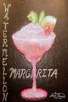 watermellon margerita stained glass