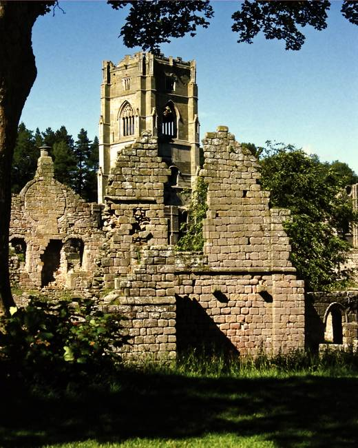 Fountains Abbey in Summer 9