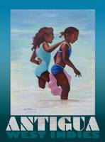 Antigua Girls Poster