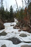 River outside Grand Marais