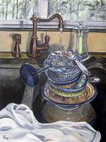 A Sink Full: Polish Pottery L