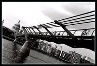 a bridge.. the millenium bridge