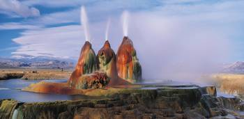 Nature's Gushing Water Fountains