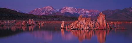 Red Rock Lake Reflections at Sundown