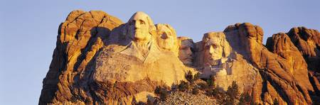 Stone Faced Presidents at Mount Rushmore