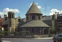 The Round Church, Cambridge by Priscilla Turner