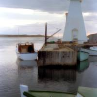 """Mabou, NS - Mabou Harbour Light"" by ve1mos"