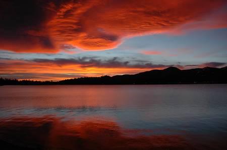 Sunrise, Big Bear Lake, CA