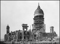 San Francisco City Hall in Ruins, 1906 by WorldWide Archive