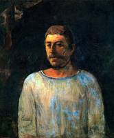 Gauguin Self Portrait Golgotha
