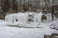 Cataract Falls - Winter #1 (IMG_6848) by Jeff VanDyke