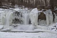 Cataract Falls - Winter #3 (IMG_6866) by Jeff VanDyke