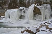 Cataract Falls - Winter #4 (IMG_6871) by Jeff VanDyke