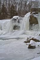 Cataract Falls - Winter #5 (IMG_6878) by Jeff VanDyke