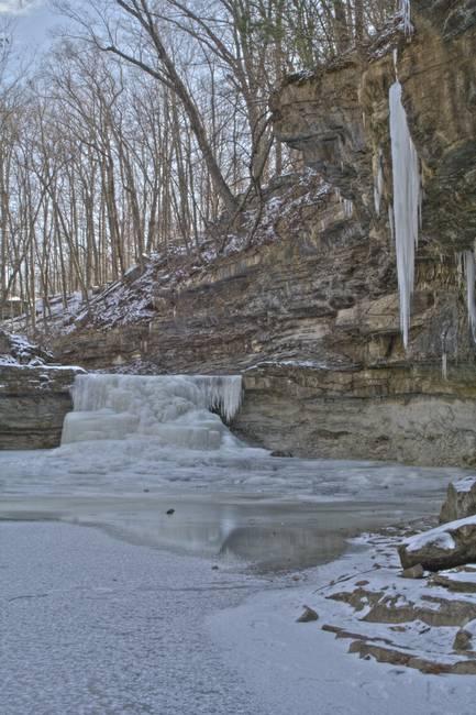 Canyone Falls - Winter #3 (IMG_6929)