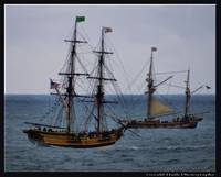 Lady Washington and Hawaiian Chieftan.