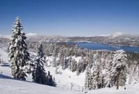 Snow Summit in Big Bear Lake, CA by Tony Kerst