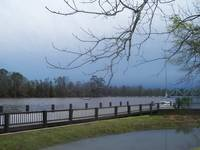 Riverwalk storm in Milton Florida