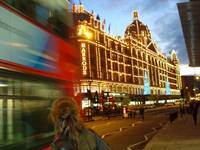 Harrods at Dusk - London
