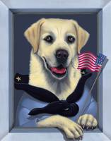 'Patriot' - Yellow Lab