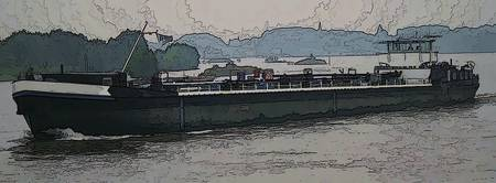 Barge on the Rhine2