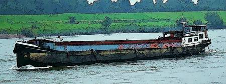 Barge on the Rhine8