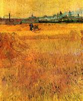 Arles View from the Wheat Fields