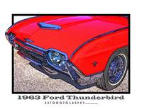 1963 Ford Thunderbird Roadster - Front