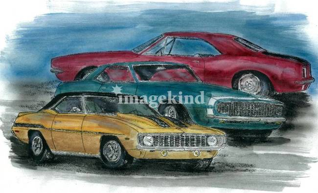 67 68 69 Camaros By Designs And Images
