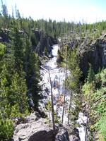 Kepler Cascades Yellowstone National Park