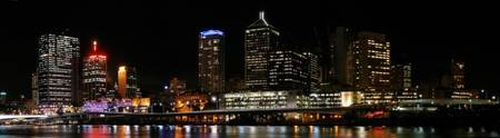 Brisbane City from South Bank