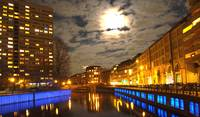 Spree River at Night - Berlin