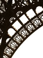 Eiffel Tower Detail, Paris, France, 2008