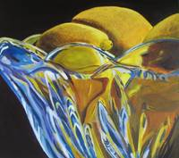 Lemons and glass