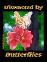 Distracted by Butterflies 04167 Impasto Image