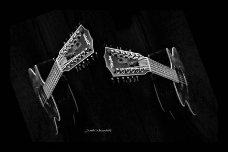 black and white music pics. Black amp; White Guitars