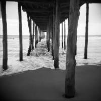 Pier - Ocean City, MD Art Prints & Posters by Shari Pastore