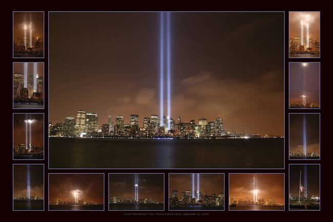 World Trade Center Tribute Lights By Mark E Loper