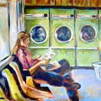 Drying by Faye Cummings
