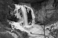 Looking Glass Falls-Winter View