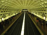 Red Line, Chinatown station, Washington, D.C.