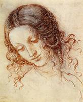 Study for the Head of Leda