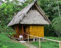 Hut at Yarina Lodge