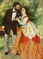 Portrait of the Married Couple Sisley