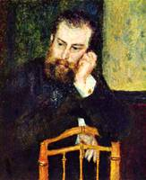 Portrait of the Painter Alfred Sisley 1