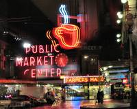 Pike's Market Reflections
