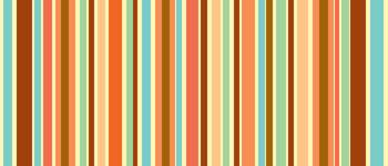 Orange Sherbet Stripes