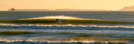 Surfing Channel Islands