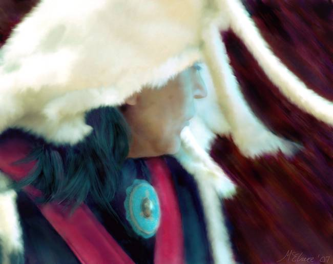 Tlingit Dancer