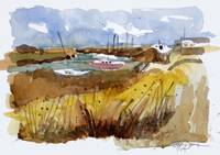 Alviso Harbor Sketch